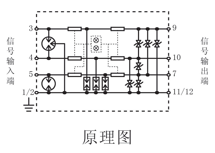 导线端子电路图
