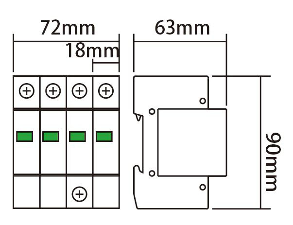 6ka防雷带指示电路图