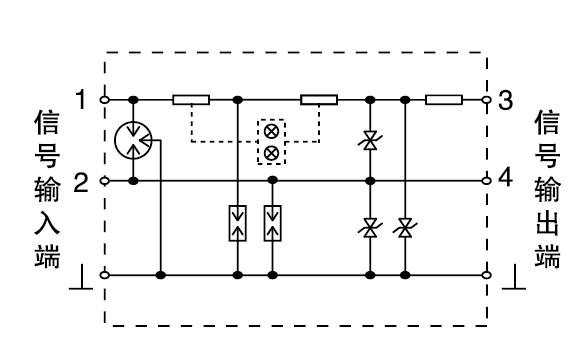 普天宁普防雷嵌入式过电压保护器