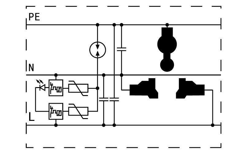 电源防雷器原理图